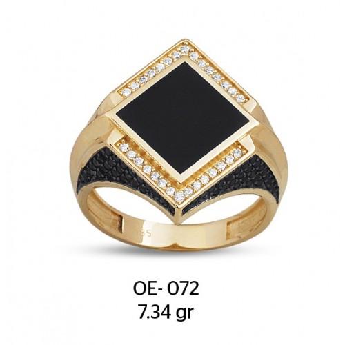 Kalkan Altın Erkek Yüzüğü