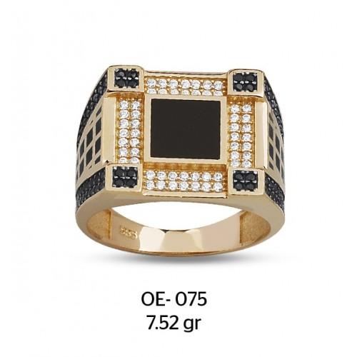 Kuleli Model Altın Erkek Yüzüğü