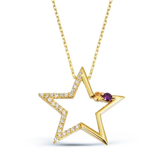 Yıldız Altın Kolye