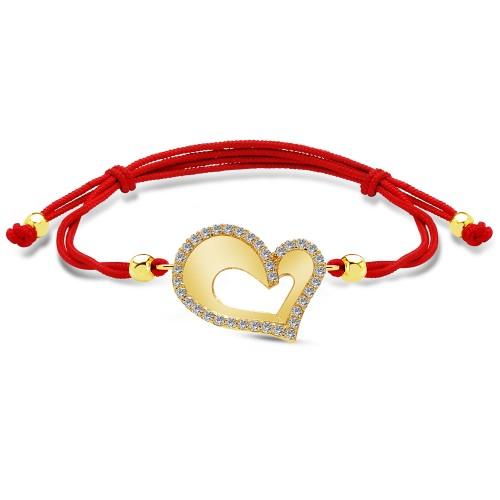 Kalp Figürlü Bileklik