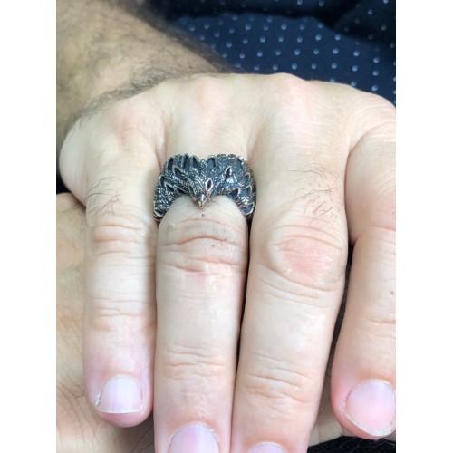 Bronz Karakartal Takım Yüzüğü