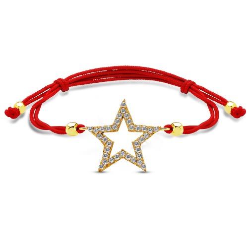 Yıldız Altın Bileklik