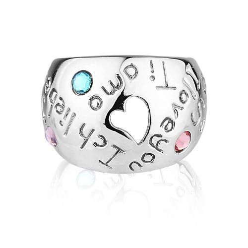 """""""Seni Seviyorum"""" Yüzüğü"""
