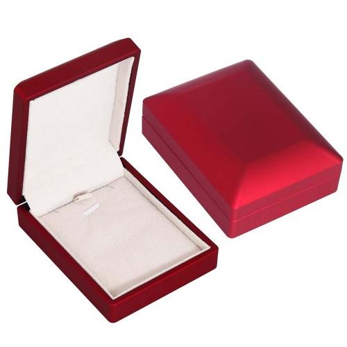 Kırmızı Kolye & Küpe Kutusu