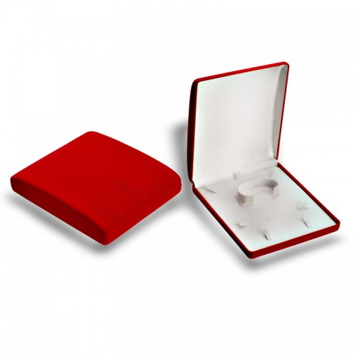 Kırmızı Kadife Düğün Seti Kutusu