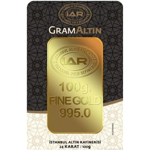 100 Gram 24 Ayar Altın-İAR