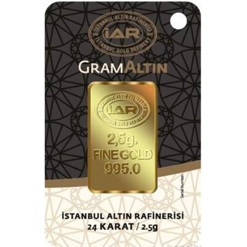 2,5 Gram 24 Ayar Altın-İAR