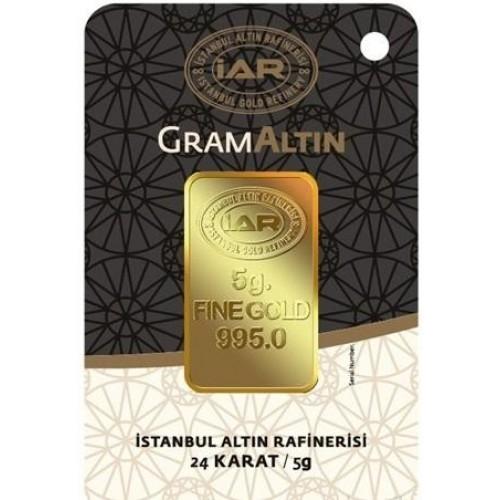 5 Gram 24 Ayar Altın-İAR