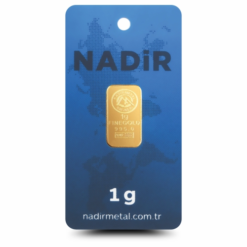 1 Gram 24 Ayar Altın - Nadir