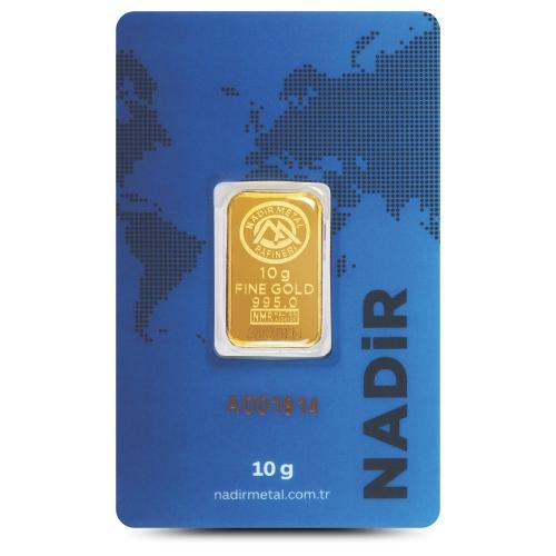 10 Gram 24 Ayar Altın - Nadir