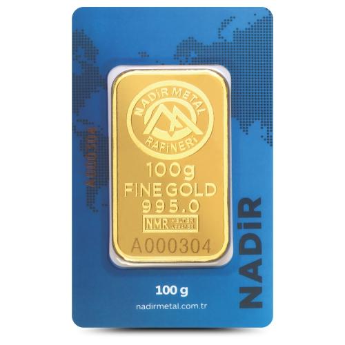 100 Gram 24 Ayar Altın - Nadir