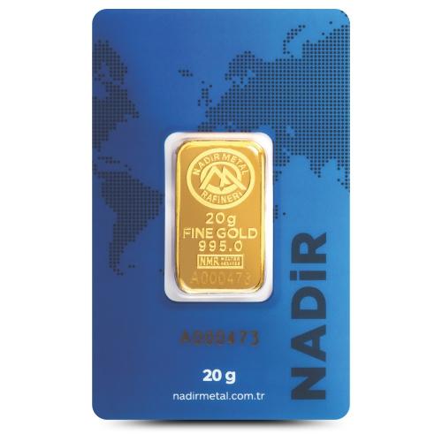 20 Gram 24 Ayar Altın - Nadir