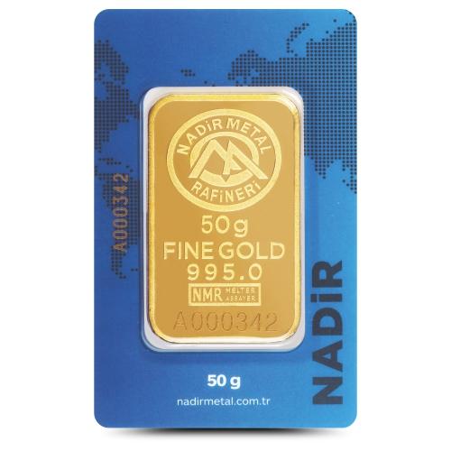 50 Gram 24 Ayar Altın - Nadir